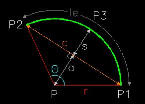 Dxf polyline bulge